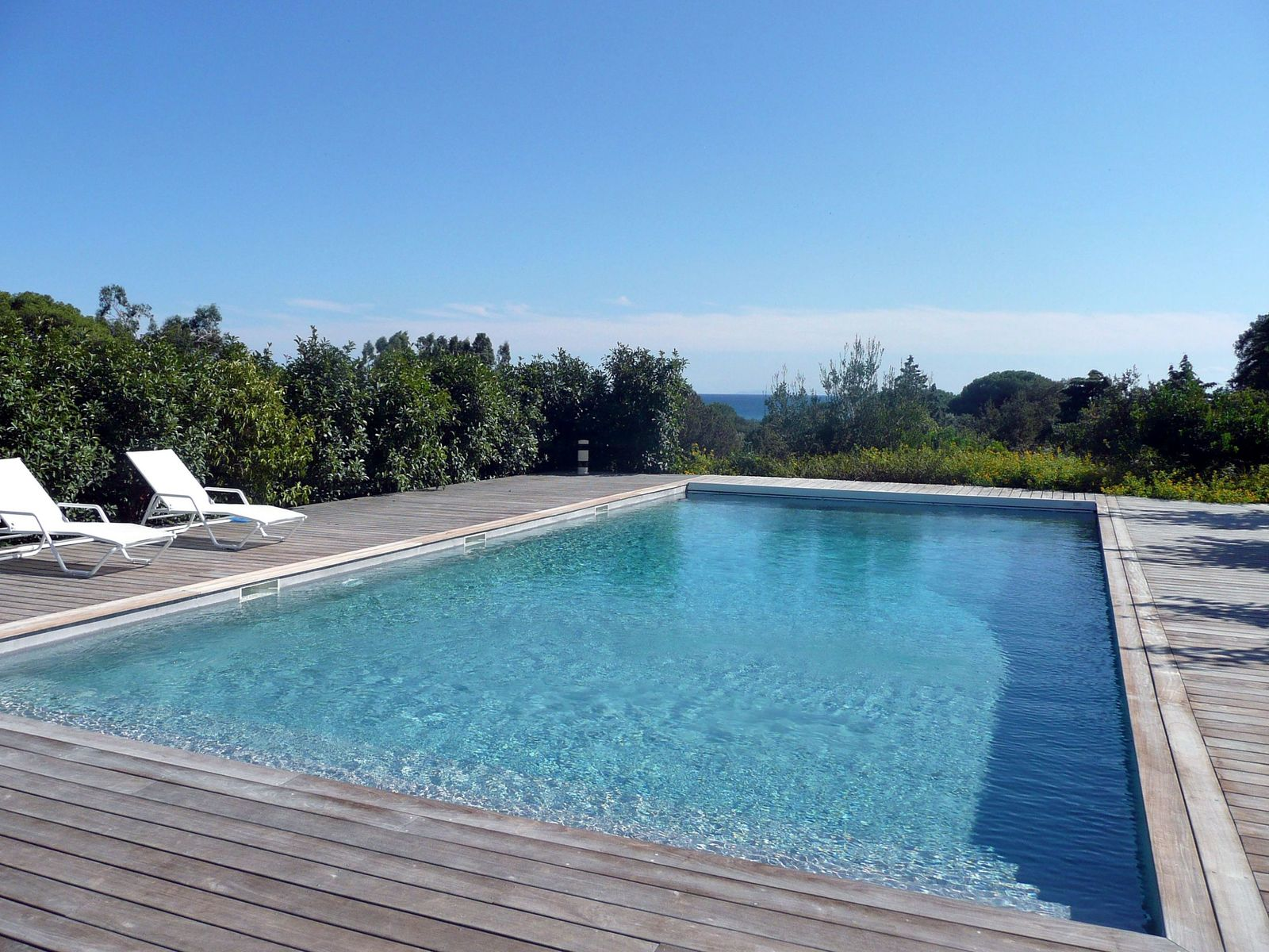 "Rare,""Waterfront"" property for sale in Palombaggia # Plage De Piscine En Bois"